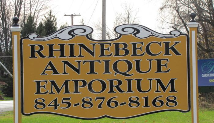 Antique Emporium - sign