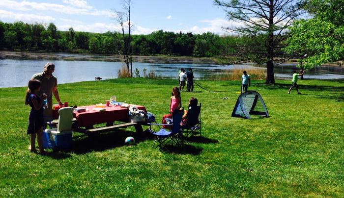 Rudd Pond - picnic