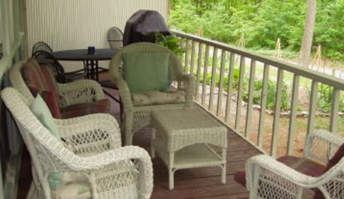 Inn the Woods - porch