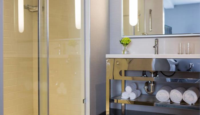 Renaissance Albany Hotel - Guest Bathroom