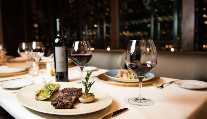 table, food