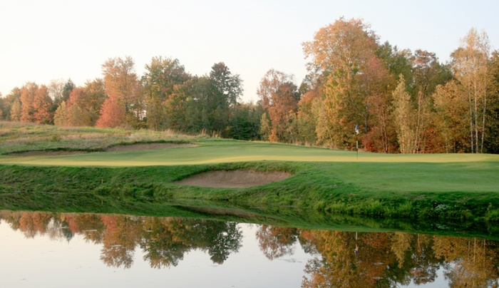 Rome Country Club pond