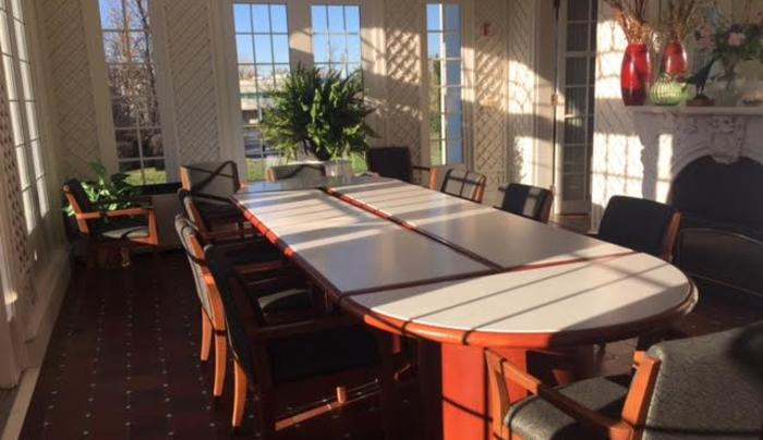 Daemen College Rosary Hall Sunroom