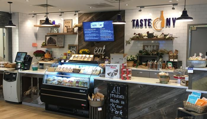 Taste NY Counter at the STWC