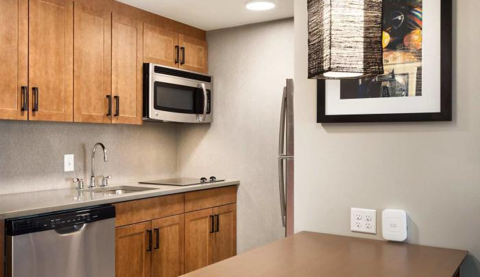 Homewood Suites Kitchen Area