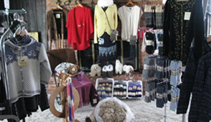 Products at Simply Natural Alpaca Gift Shop