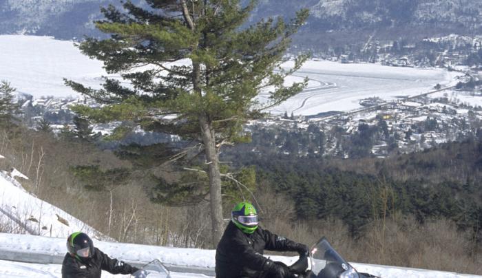 Prospect Mountain Veterans Highway ~ Snomobilers