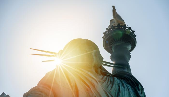 Visiting Statue of Liberty