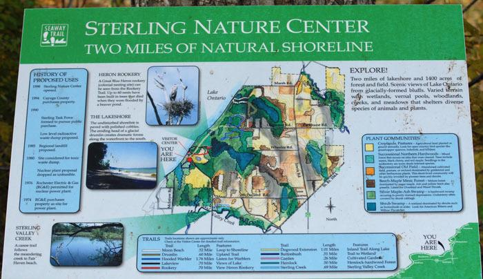 Sterling Nature Center Trails