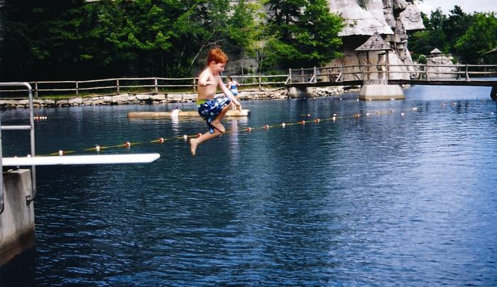 Mohonk Beach diving board.jpg