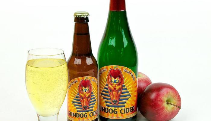 Sundog Cider product