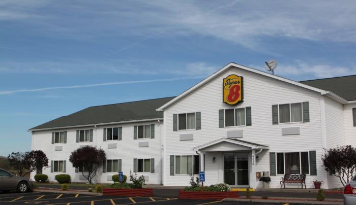 Super 8 Motel Exterior