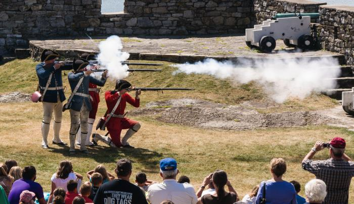 Musket Firing Demonstrations