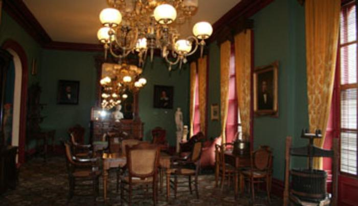 Saratoga Springs History Museum - High Stakes Room