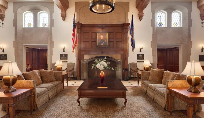 The Historic Thayer Hotel at West Point Lobby