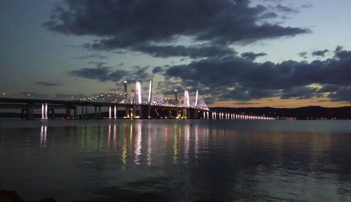 The new Tappan Zee bridge on opening day October 6, 2017.