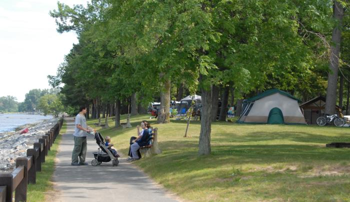 Verona Beach Camping-Photo Courtesy of NYS Parks