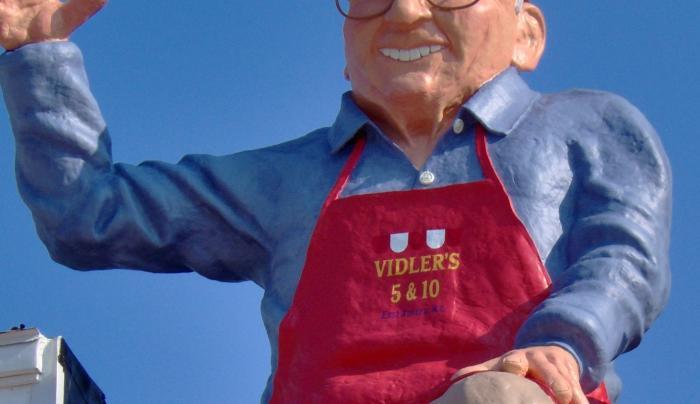 Vidler on the Roof