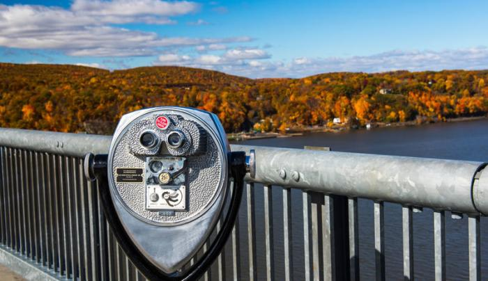 Walkway over the Hudson State Park -Fall