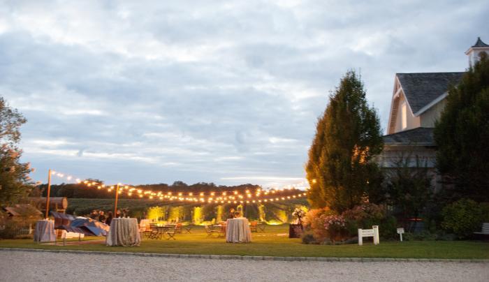 Wedding at Bedell Cellars - Tea Lights