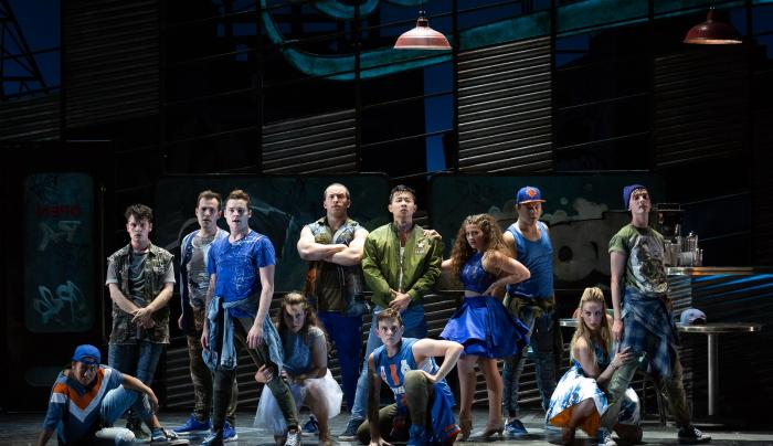 West Side Story group, Credit Karli Cadel/The Glimmerglass Festival