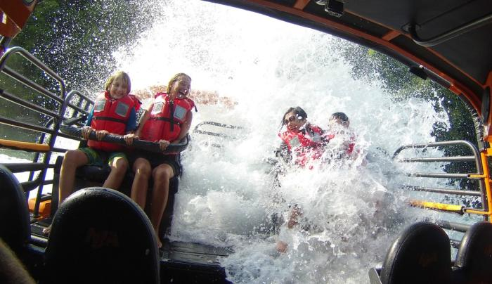 Wet Shot - Niagara Jet Adventures