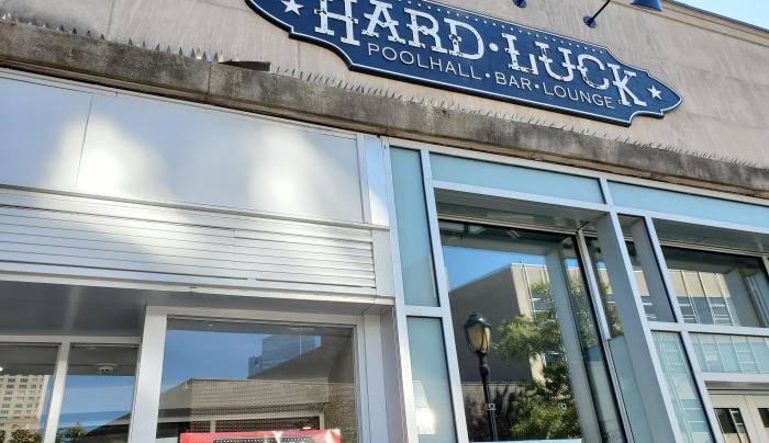 Hard Luck pool hall EXT