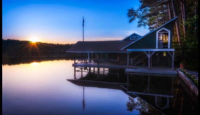 White Pine Boat House
