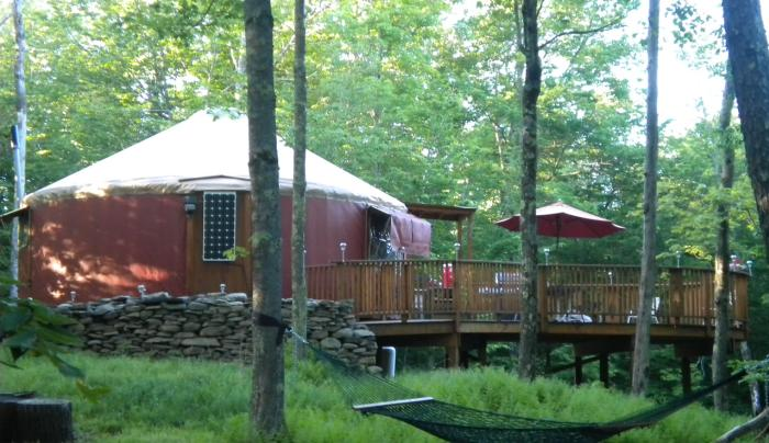 Willowemoc Wild Forest Yurt