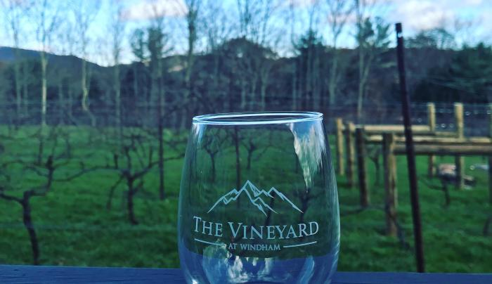 Our Vineyard Wiineglass
