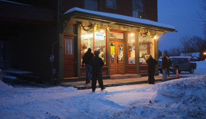 Olde world charm and a great place to warm up & enjoy a meal!