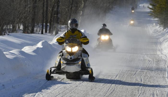 Snowmobile - Photo by NYS ESD