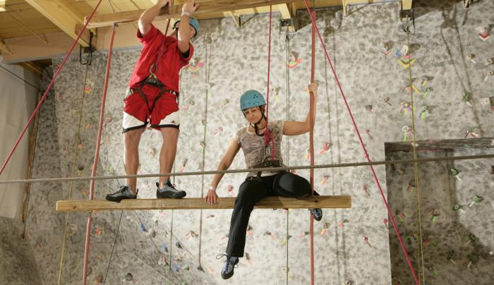 Adventures in climbing at Rock Ventures, Rochester, NY