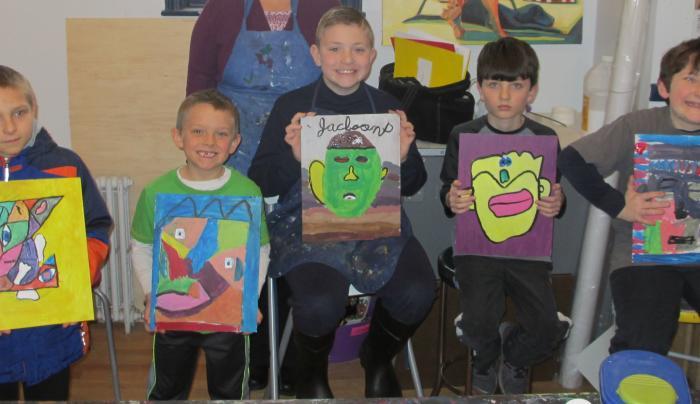 albany art room kids class