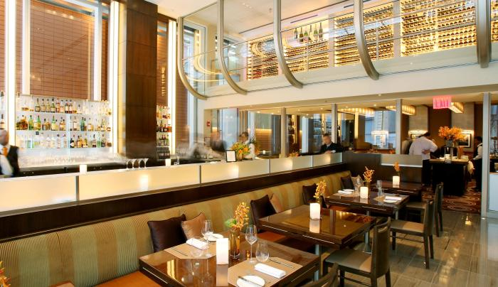 Aureole, bar room