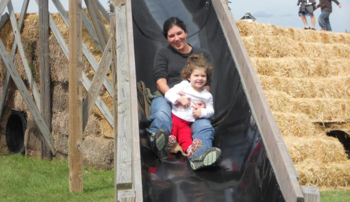 Sliding at Stokoe Farms, Rochester, NY