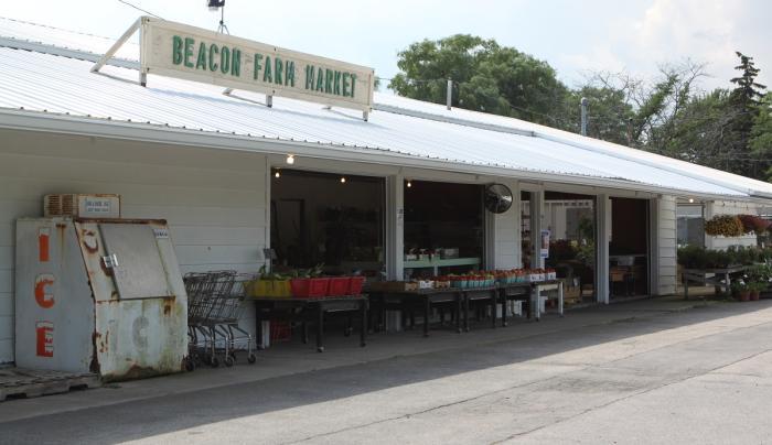 Exterior of Beacon Farm Market in Canandaigua, NY