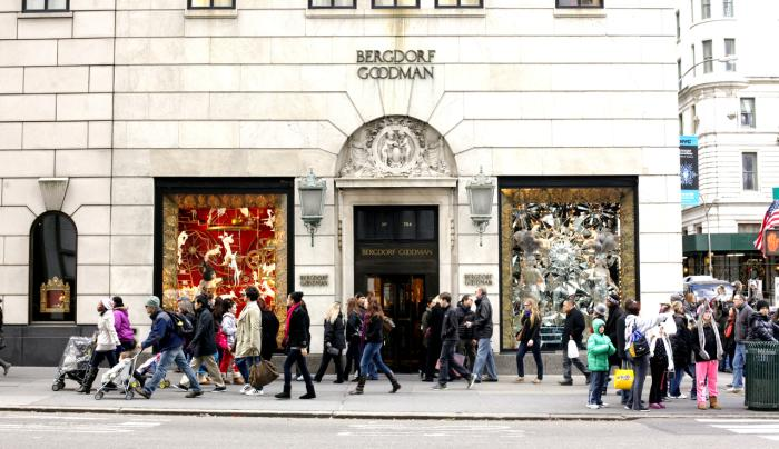 Bergdorf Goodman Photo Joe Buglewicz - Courtesy of NYC & CO