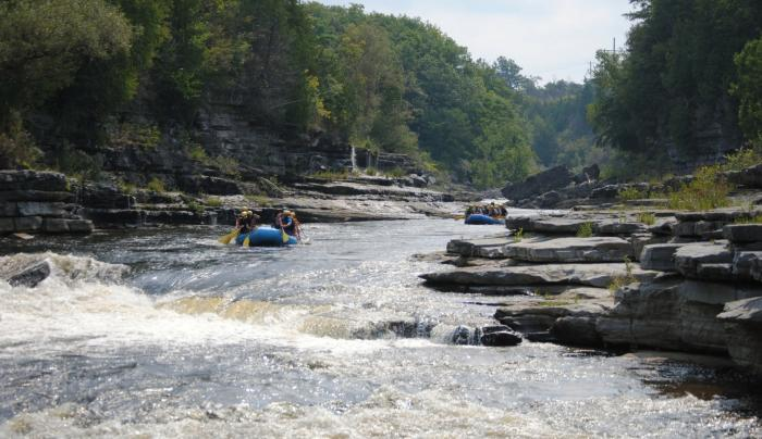 Black River Canyon Whitewater Rafting