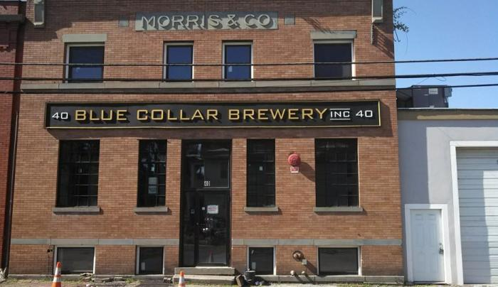 Blue Collar Brewery - ext