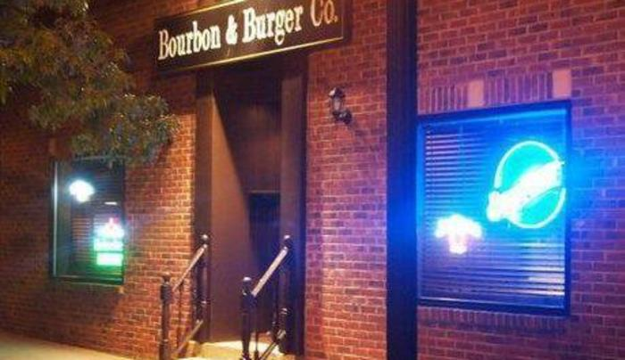bourbon and burger exterior