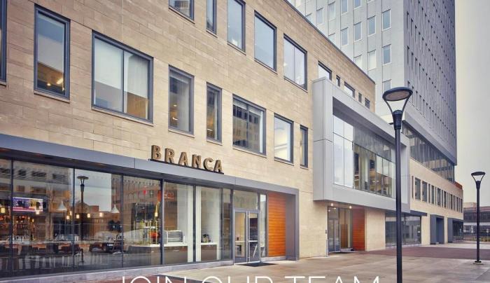 front of Branca