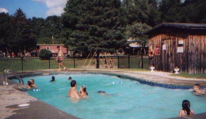 Pool at Broken Wheel Campground