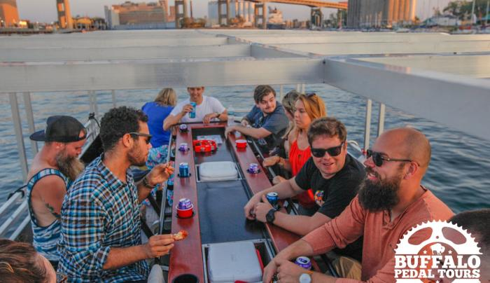 Buffalo Pedal Tours- makes 20 person cycleboats!