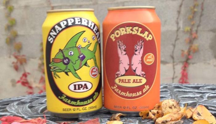 Snapperhead & Porkslap Cans