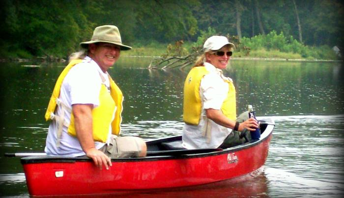 Canoe Trips & Rentals at Tall Pines Campground & River Adventures