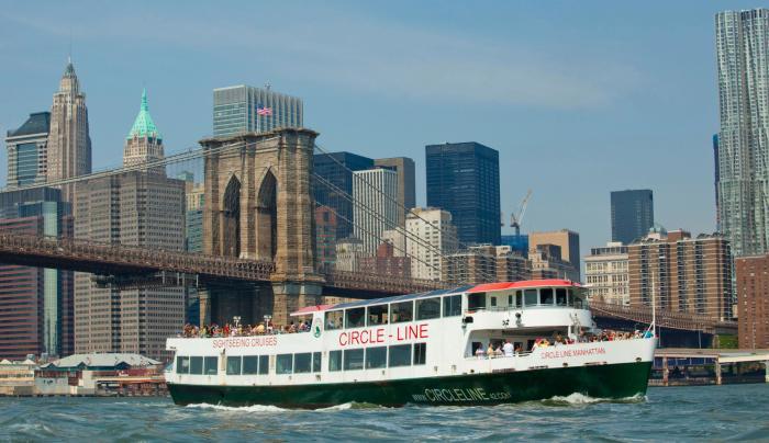 Circle Line Cruises, skyline