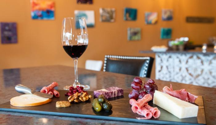 Wine & Charcuterie Board