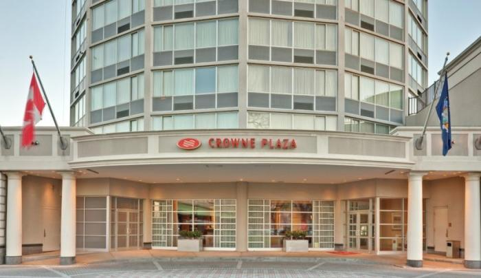 Crown Plaza exterior