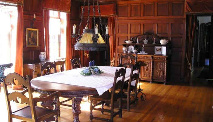 Singer Castle Dining Room